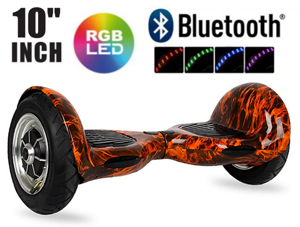 10 inch hoverboard – flame – cover pic