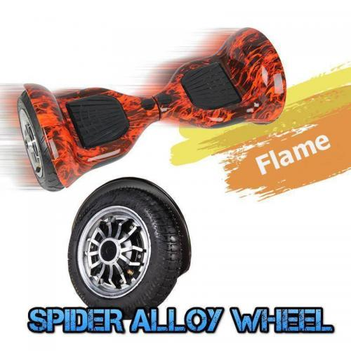 10 inch self balancing board flame model