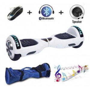 6.5 inch white hoverboard - cover picture