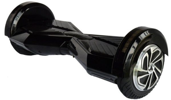 8 inch black hoverboard with LED and bluetooth