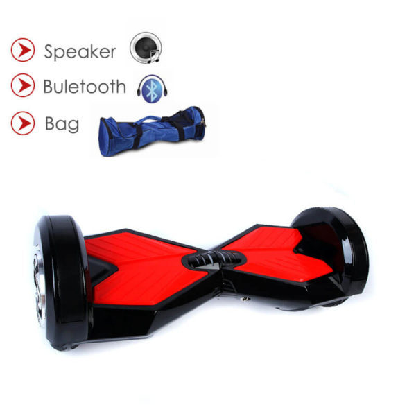 8 inch hoverboard – black colour