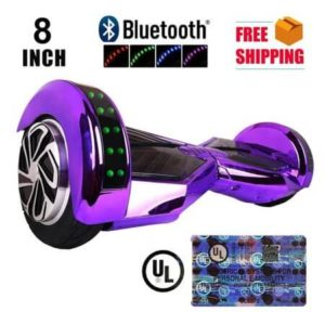 8 inch hoverboard - purple colour -cover
