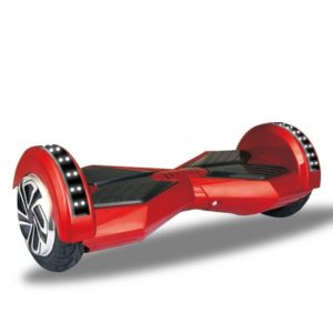 8 inch lambo style hoverboard - Red colour with LED - cover