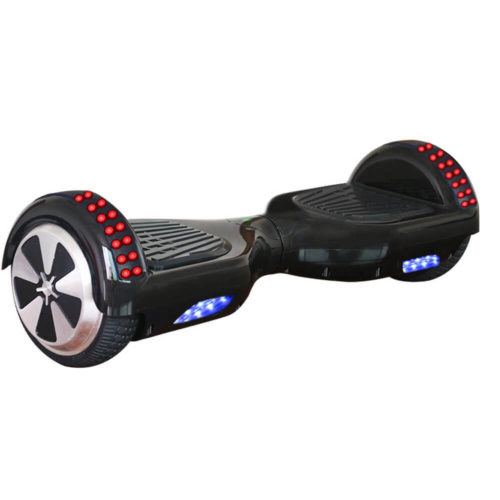 Black Hoverboard with LED