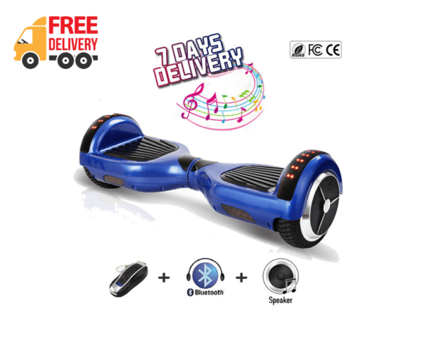 Blue hoverboard free shipping