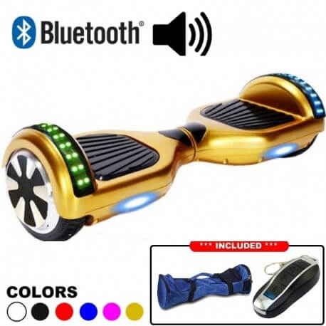 Gold Hoverboard - cover image