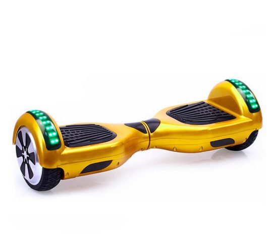 Gold Hoverboard with LED lights
