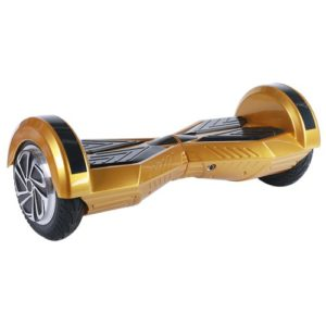 Gold Hoverboard with bluetooth and LED lights