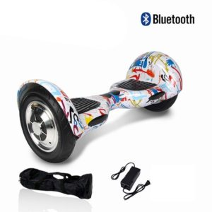 Hoverboard multicolour with Bluetooth