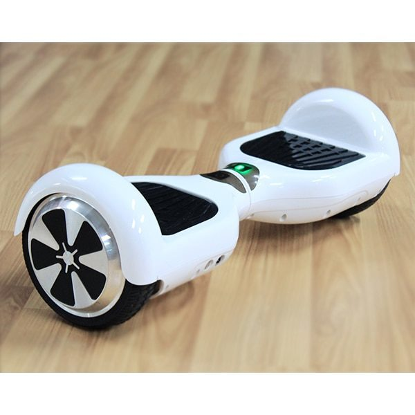 Hoverboard white colour for kids with LED