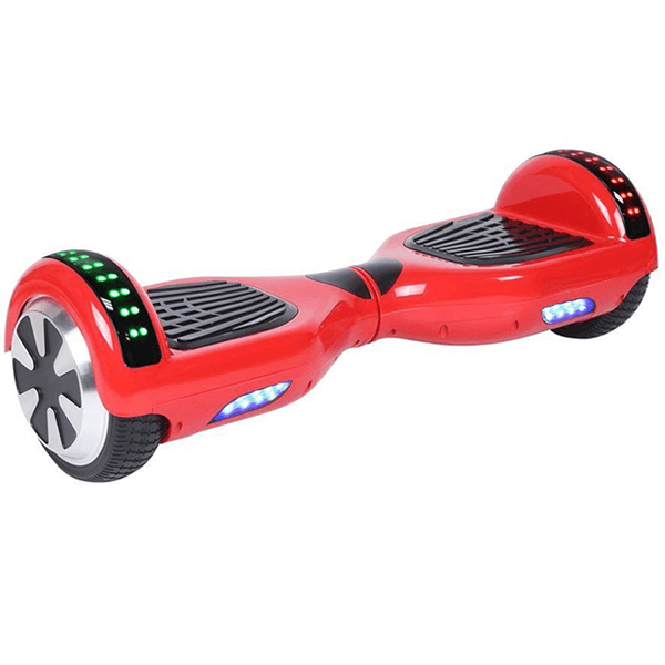 Red Hoverboards with LED and bluetooth