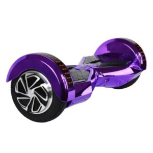 hoverboard purple led and bluetooth
