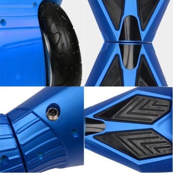 lamborghini style blue hoverboard