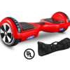 Red Hoverboard and Carry Bag