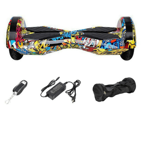 8 inch hoverboard – graffiti colour